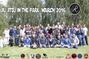 Jiu jitsu in the park 2016